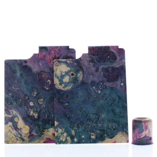 Purge Ally Panels Light Purple Light Blue Wood