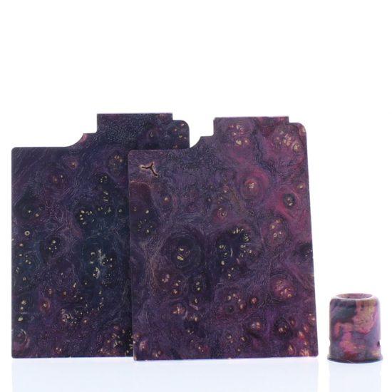 Purge Ally Panels Purple Blue Wood