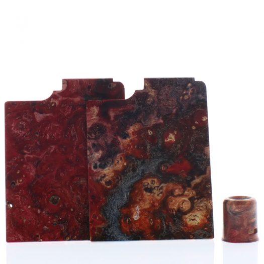 Purge Ally Panels Red Purple Wood