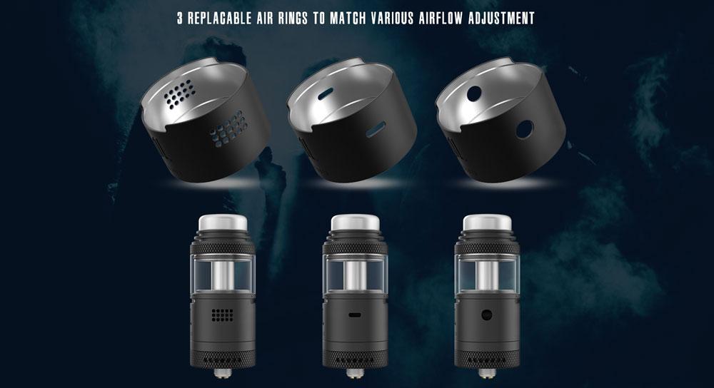 Widowmaker RTA - 3 Airflow Rings