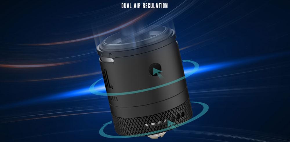 Widowmaker RTA - Dual Air Regulation
