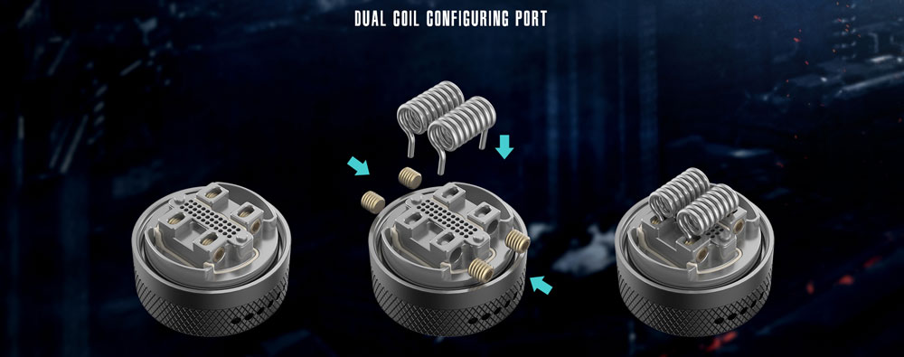 Dual Coil Builds