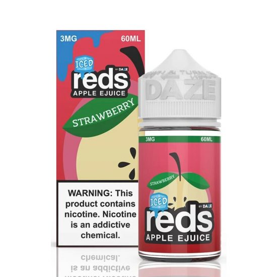Strawberry Iced Reds Apple 60mL