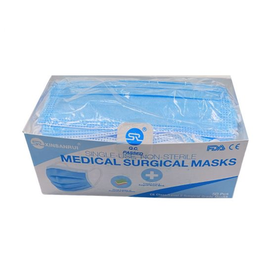 3-Ply Surgical Masks - Open Box