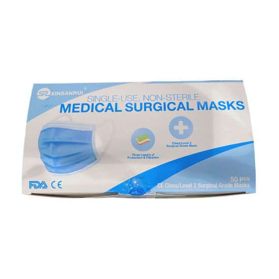 3-Ply Surgical Masks - Top Box