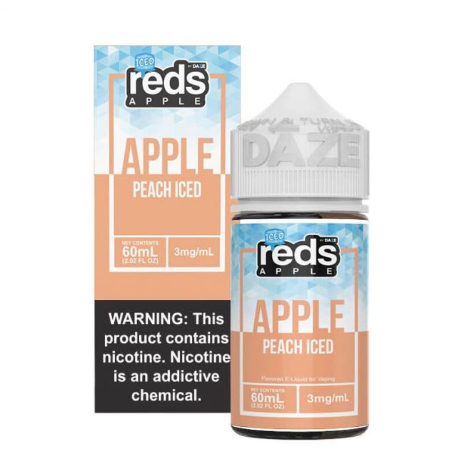 Peach Iced Reds Apple 60mL