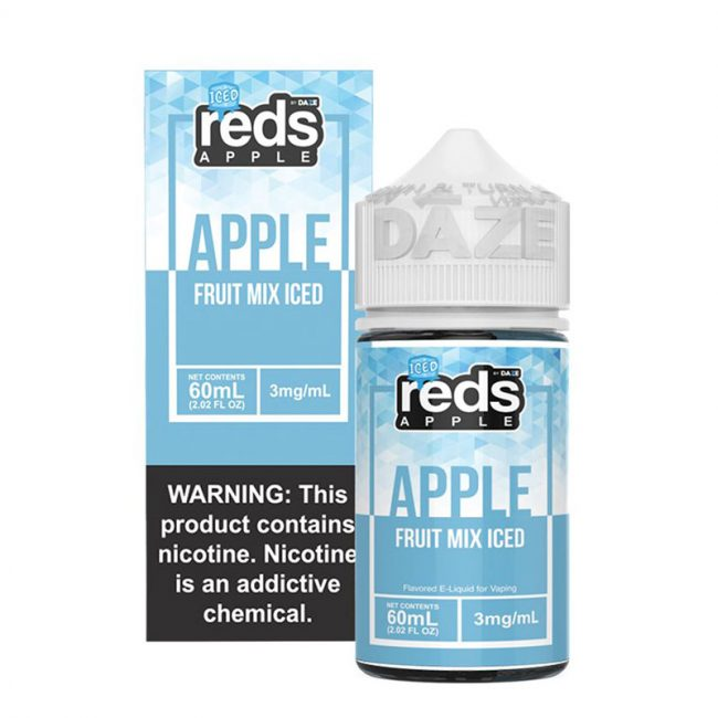 Fruit Mix Iced Reds Apple 60mL